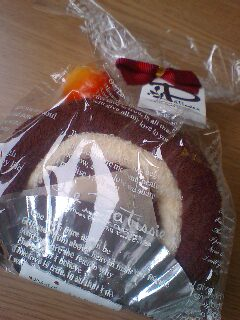 ロールケーキが食べられない(泣)