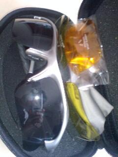 Y's Roadで買ったサングラス