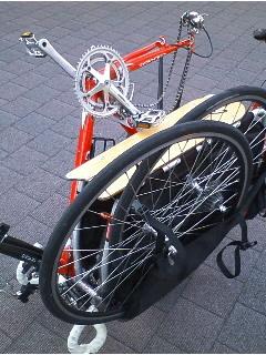自転車on自転車